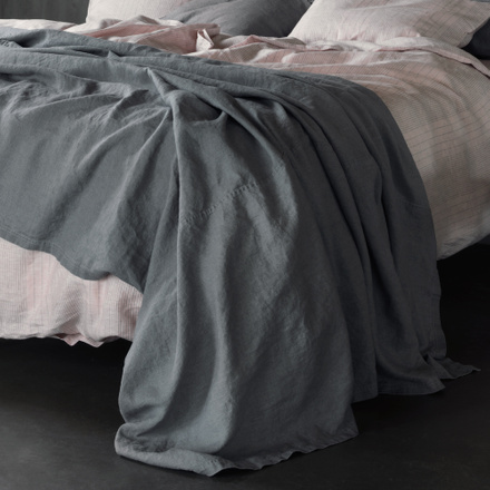 West Bedspread - Light Stone Grey