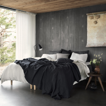 West Bedspread - Granite Grey