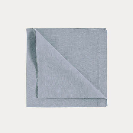 Robert Napkin 4-Pack - Light Grey Blue