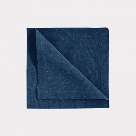 Robert Napkin 4-Pack - Indigo Blue