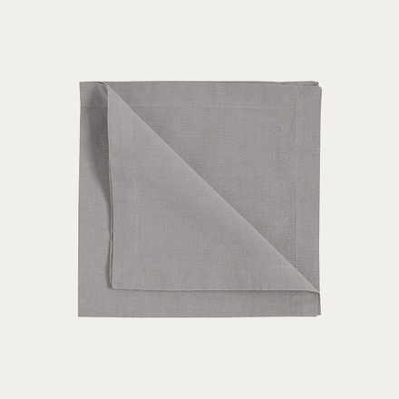 Robert Napkin 4-Pack - Light Grey