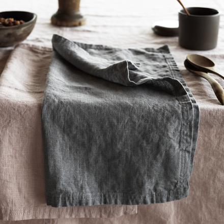 West Napkin - Light Stone Grey