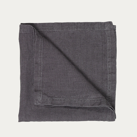 West Napkin - Granite grey