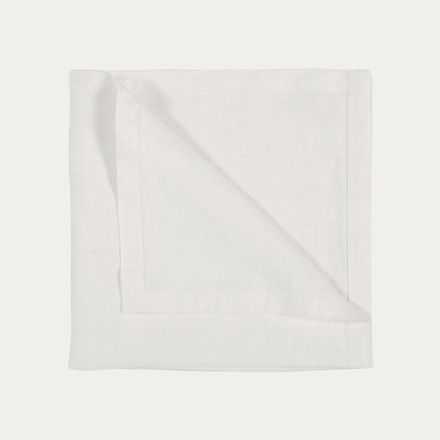 West Napkin - White