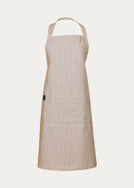 Emma Apron - Dark Mole Brown