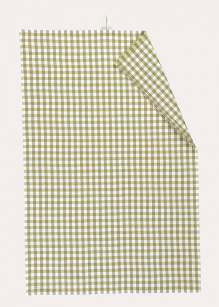 Osby Tea Towel - Light Cypress Green