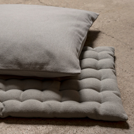 Pepper Seat Cushion - Light Grey