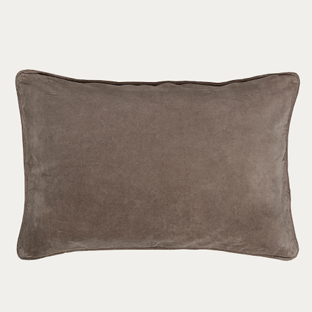 Paolo Cushion Cover - Mole Brown