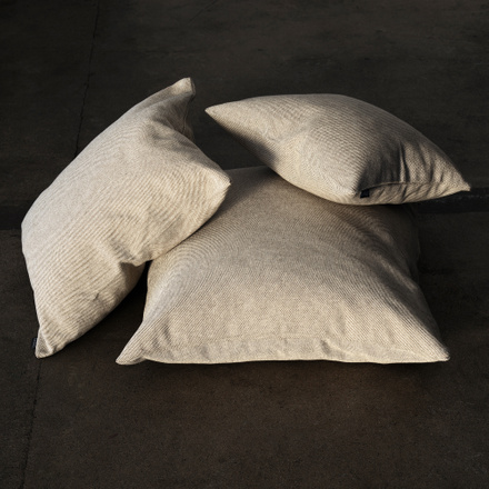 Pepper Cushion Cover - White