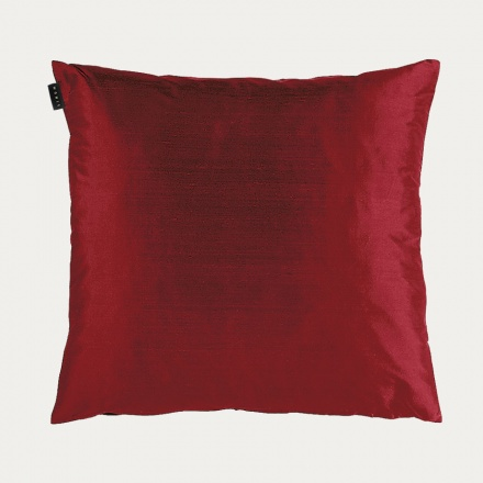 Silk Cushion Cover - Pale Wine Red