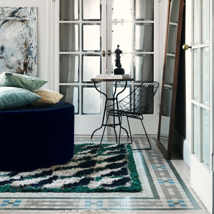 BROOKLYN RUG - MEADOW GREEN