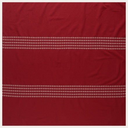 Whyte Tablecloth - Dark Red