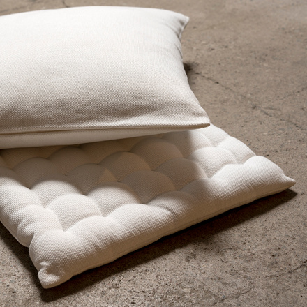 Pepper Seat Cushion - White