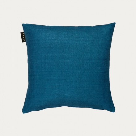 Seta Cushion Cover - Petrol Blue
