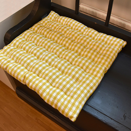 Osby Seat Cushion - Mustard Yellow