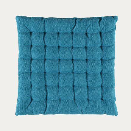 Pepper Seat Cushion - Aqua Turquoise