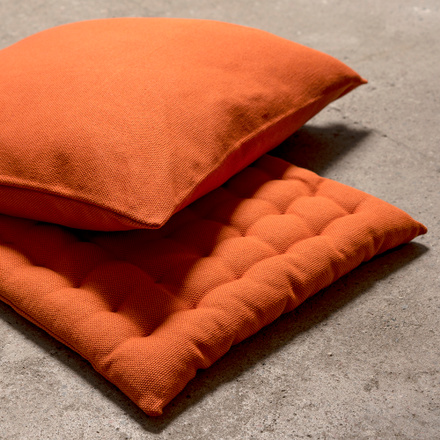 Pepper Seat Cushion - Orange