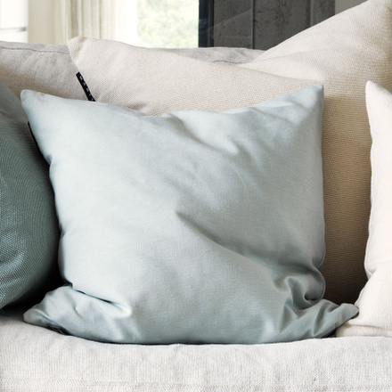 Annabell Cushion Cover - Light Grey Blue