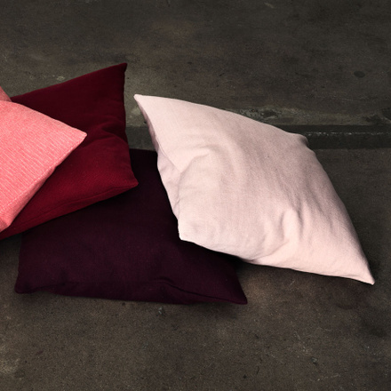 Pepper Cushion Cover - Burgundy Red