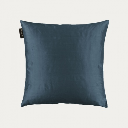 Silk Cushion Cover - Ink Blue