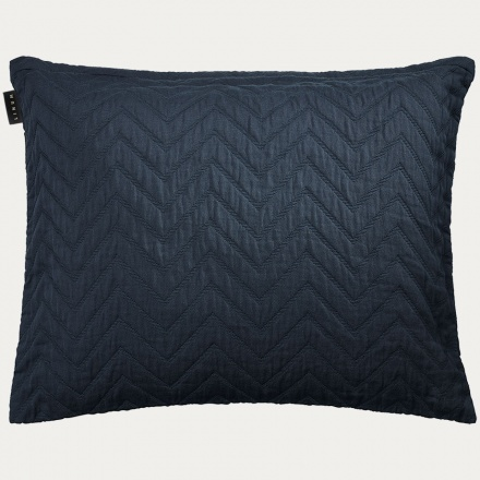 Zaza Cushion Cover Ebony Grey