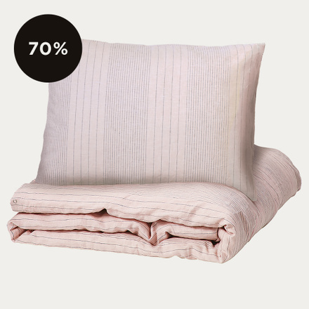 Riverdale Duvet Cover - Dusty Pink