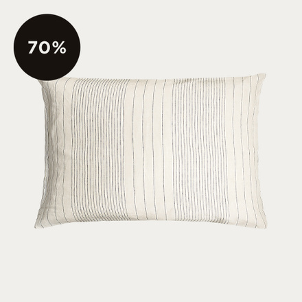 Riverdale Pillowcase - Creamy Beige