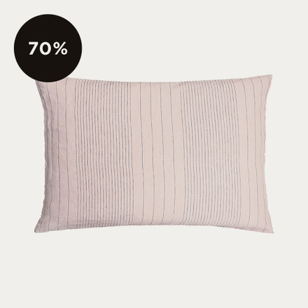 Riverdale Pillowcase - Dusty Pink