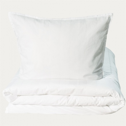 Yasmin Duvet Cover - Bright White