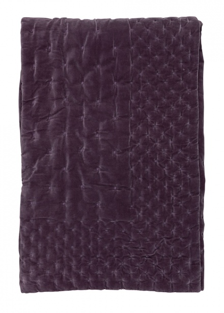 Paolo Bedspread - Dawn purple
