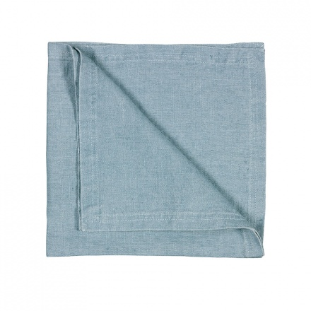 WEST NAPKIN - LIGHT GREY BLUE