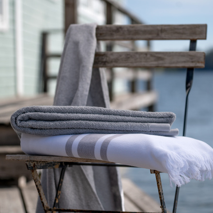 East Bath Towel - Light Grey