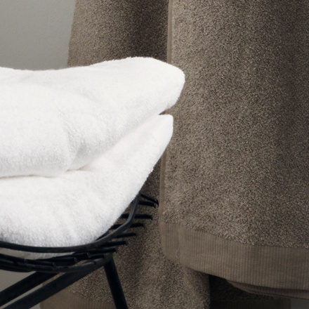 East Bath Towel - Linen Beige