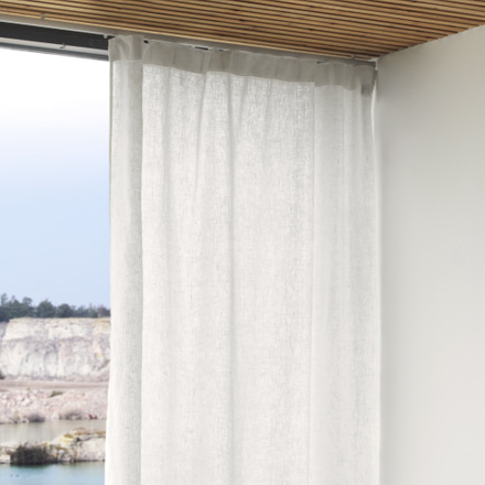 West Curtain - White