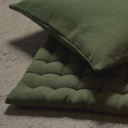 Pepper Seat Cushion - Dark Olive Green
