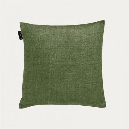 Seta Cushion Cover - Dark Olive Green