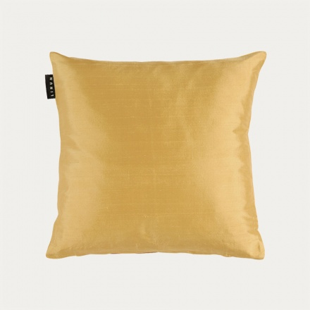 Silk Cushion Cover - Straw Yellow