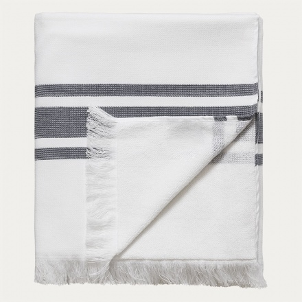 Aki Bath Towel - Dark Steel Blue