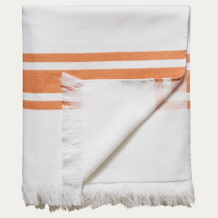 Aki Bath Towel - Golden Orange