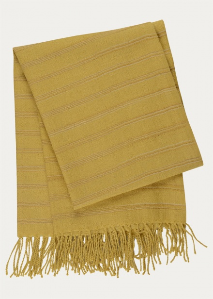 Nara Throw  - Mustard Yellow