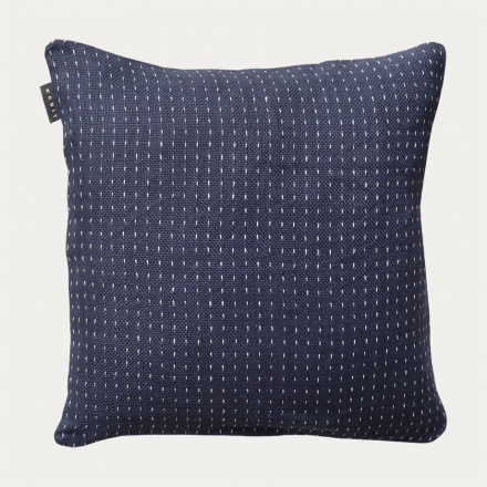 Channel Cushion Cover - Ink Blue