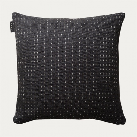 Channel Cushion Cover - Dark Charcoal Grey