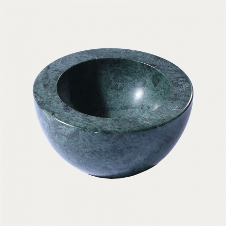 Mable Bowl Marble - Pine Green