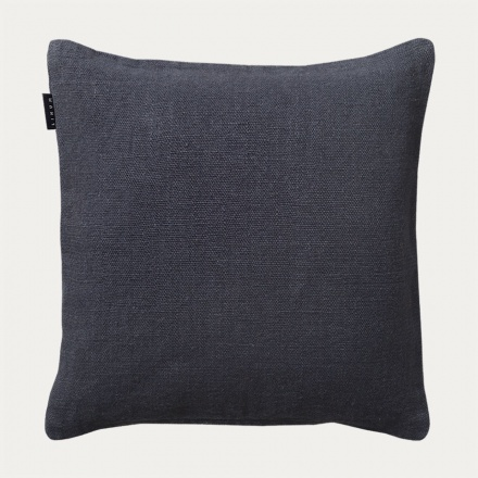 Raw Cushion cover - Dark Steel Blue