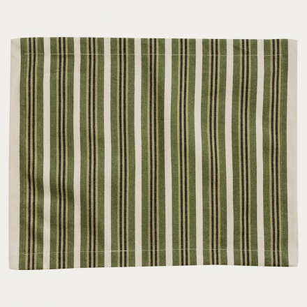 Taylor Placemat - Dark Olive Green