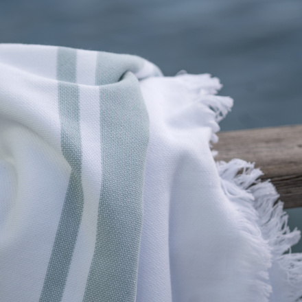 Aki Bath Towel - Ice Green