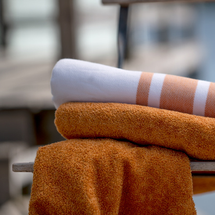 East Towel - Golden Orange