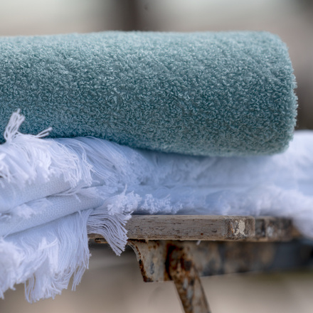 East Bath Towel - Ice Green