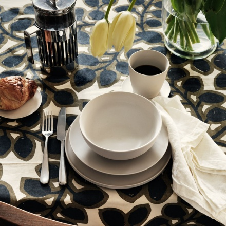Varity Tablecloth - Mocha Brown