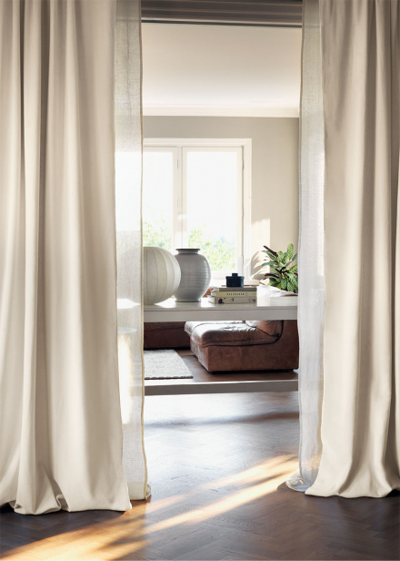 Intermezzo Curtain - Dusty pink